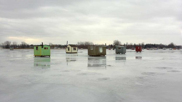 Anglers can continue to use portable ice fishing shelters daily as long as they feel the ice is safe for travel -- and if they remove their shelters daily.