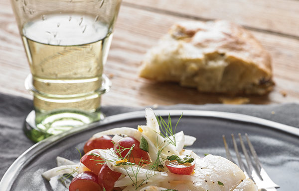 Recipe: Roasted Cod with Fennel and Grapes | Outdoor Newspaper