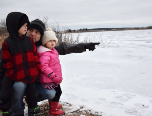 Teach kids about Ice safety when they are young. This could prevent a tragedy!