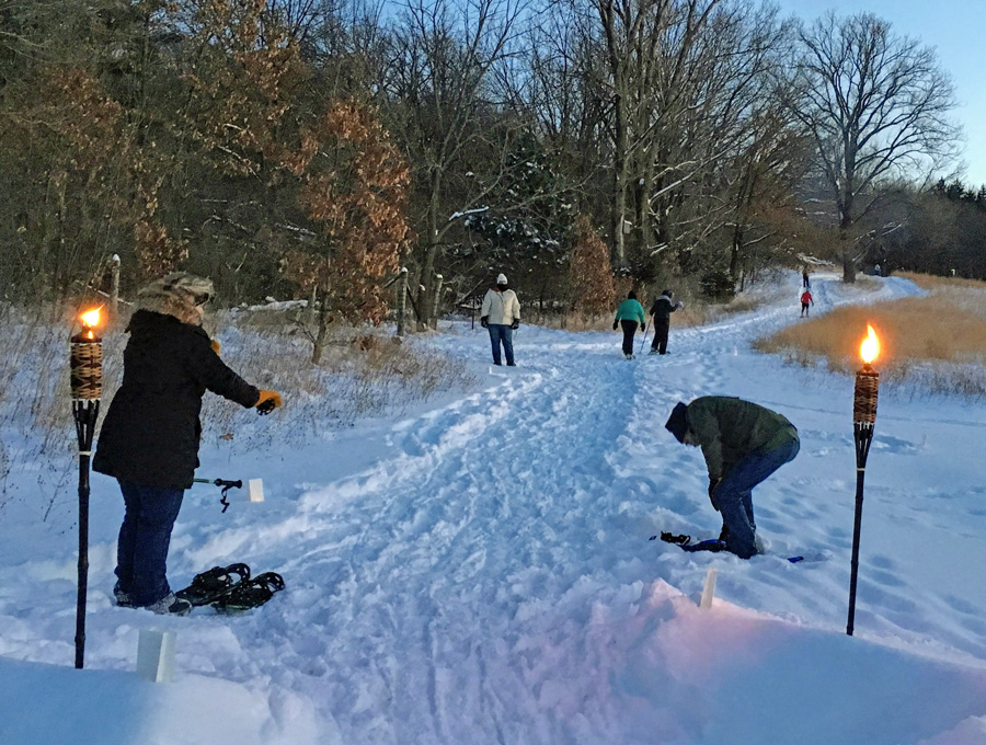 More than 35 candlelight events are scheduled this winter at Wisconsin State Park System properties. While the events are labeled 'candlelight' some properties use Tiki torches or other luminaries.