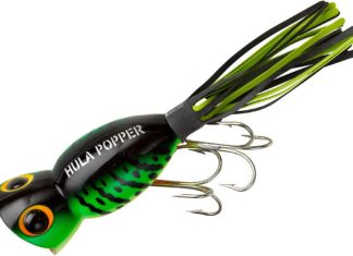 Hula Popper Topwater Fishing Lure with its Pulsating Skirt | Outdoor Newspaper