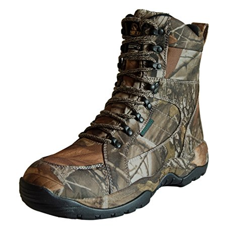 R RUNFUN Men's Lightweight Anti-Slip Waterproof Hunting Boots