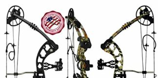 "RAPTOR Compound Hunting Bow Kit: | Fully adjustable 24.5-31"" Draw 30-70LB pull 
