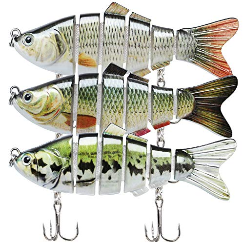 TRUSCEND Fishing Lures for Bass 3.9