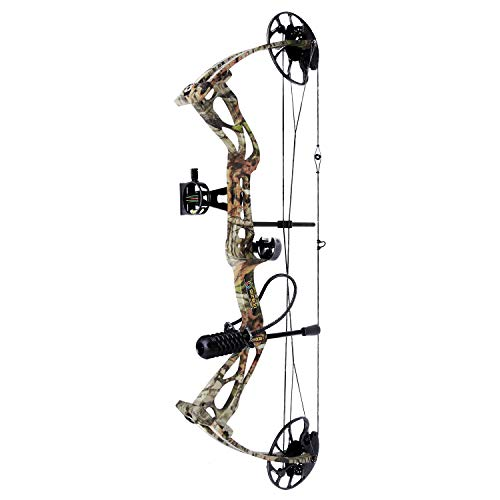 sanlida Archery Dragon X8 Hunting Archery Compound Bow Package/Limbs Made in USA/18-31 Draw Length/0-70Lbs Draw Weight/Up to 310FPS/1 Year Warranty