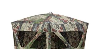 Barronett Blinds RA200BW Radar Pop Up Portable Blind, Bloodtrail Backwoods Camo