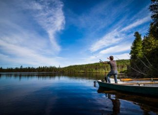 Trout Fishing on a Quiet Lake - Outdoor Newspaper