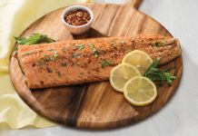 Wild Game Fish Recipe - Honey-Balsamic Glazed Salmon