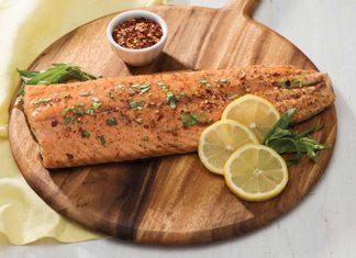 Wild Game Fish Recipe - Honey-Balsamic Glazed Salmon